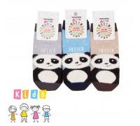 """Носки детские с  3D ворсистым рисунком """"Панда"""""""