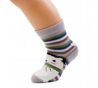 """Носки детские с  3D ворсистым рисунком """"Ёжик"""""""