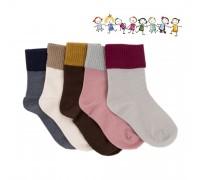 Носки детские Однотонные Носки унисекс с высоким манжетом